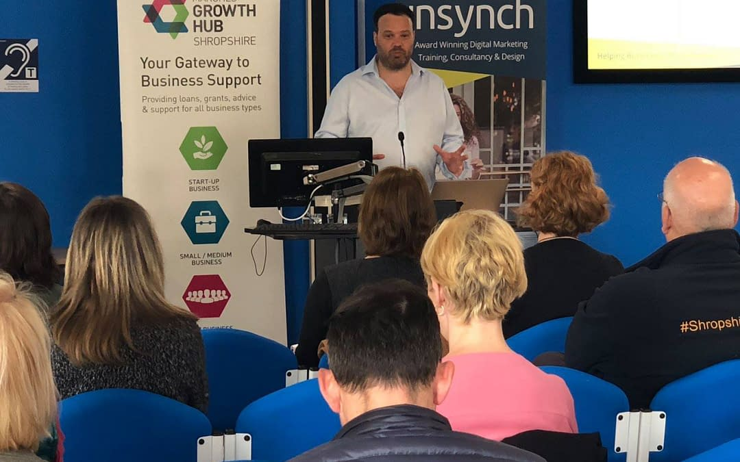 InSynch announce two free Digital Marketing and Social Media Webinars in September for Managers and Small Business Owners around the UK